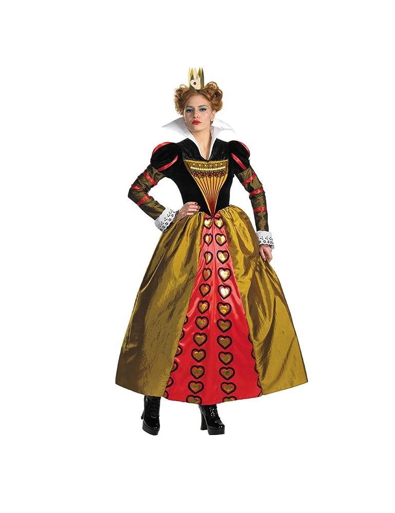 disney alice in wonderland red queen costume