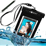 Kobert Waterproof Case - Best Dry Bag For iPhone 6s, 6, 6 Plus, 5s, Samsung Galaxy s6, s6 Edge, s5, s4, Note 4, Every Cell Phone - Lanyard + Stylus