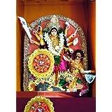 "Dolls Of India ""Chandraghanta - The Third Form Of Navadurga"" Photographic Print - Unframed (60.96 X 50.80 Centimeters..."