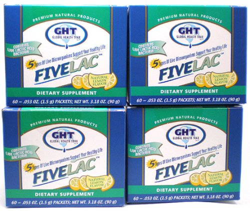 Fivelac Pack Of 4 For The Price Of Three Buy 3 Get 1 Free