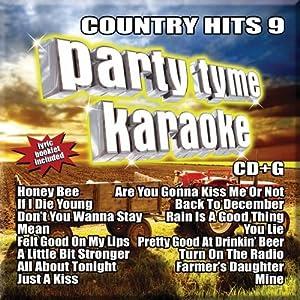 Party Tyme Karaoke: Country Hits 9