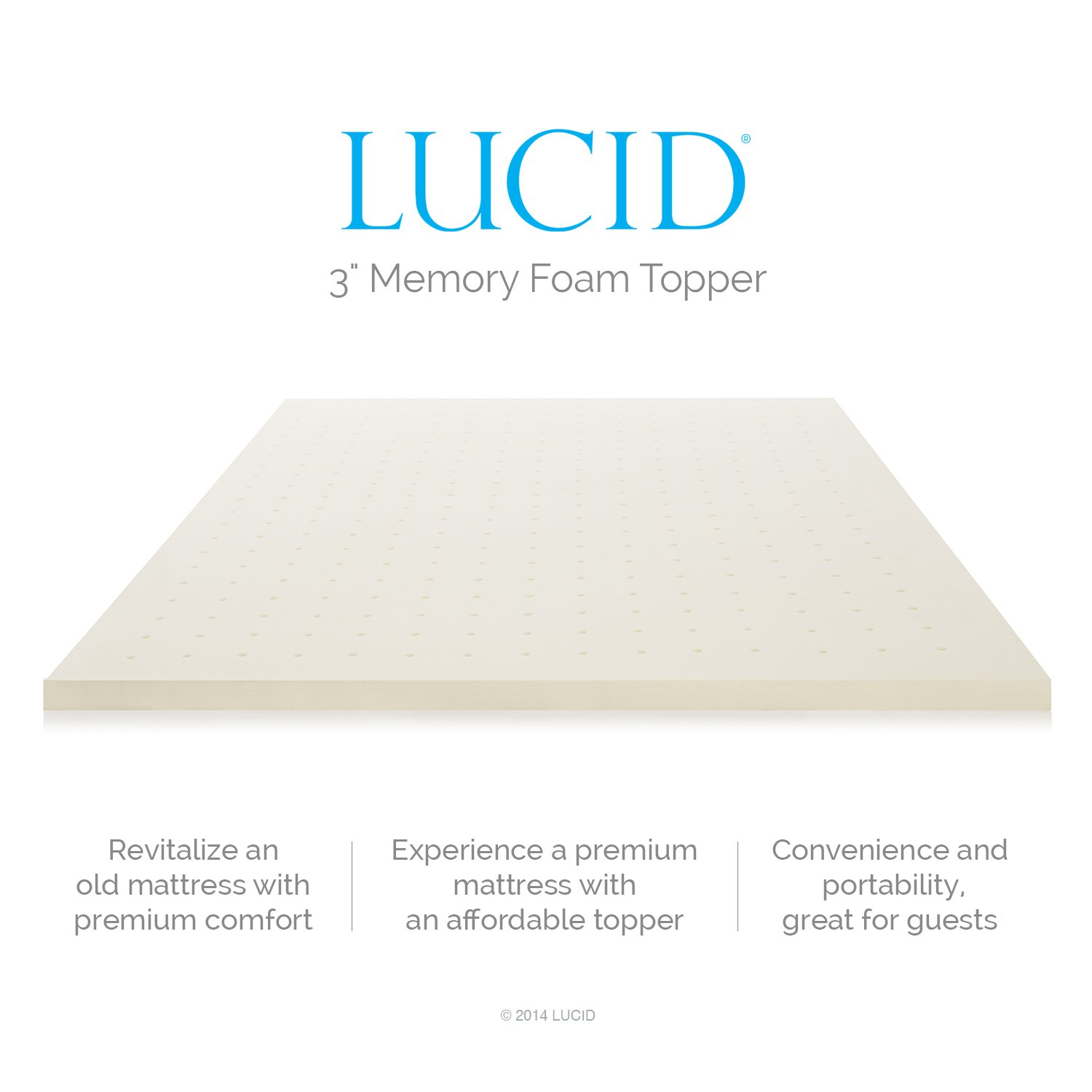 LUCID 3 Inch Ventilated