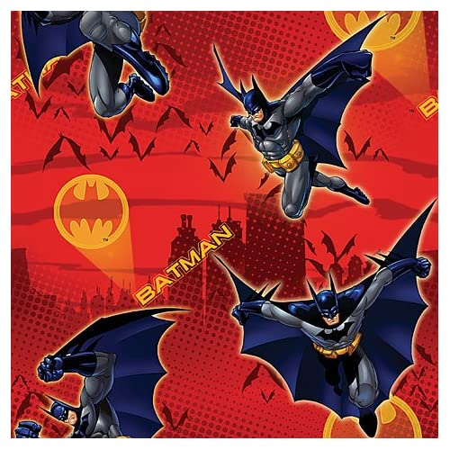 Amazon.com: BATMAN Gift Wrap Wrapping Paper (15 Square Feet)