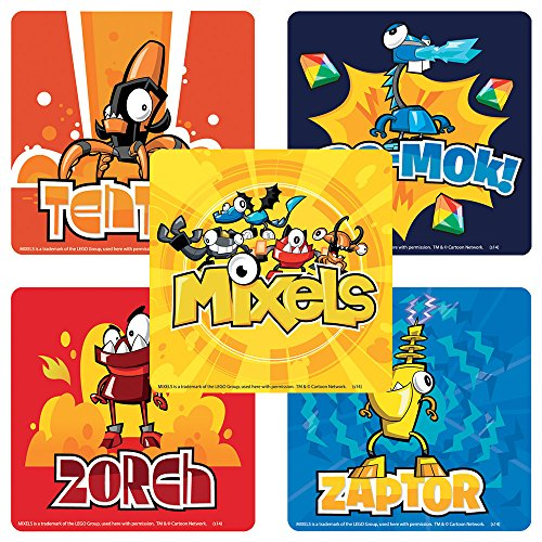 Lego Mixels Stickers - 75 per Pack