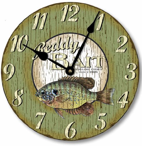 Retro Vintage Style Fish Clock