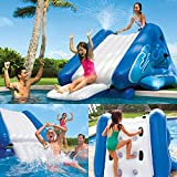 "Intex Water Slide Inflatable Play Center, 135"" X 81"" X 50"", for Ages 6+"