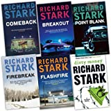 Richard Stark A Parker Novel 6 Books Collection Pack Set RRP: �45.82 (Breakout, Firebreak, Dirty Money, Comeback, Flashfire, Point Blank)by Richard Stark