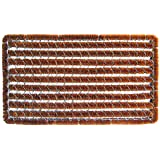 Entryways Rectangle Striped Doormat, 16-Inch by 27-Inch