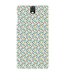 EPICCASE glittery pieces Mobile Back Case Cover For Infocus M330 (Designer Case)