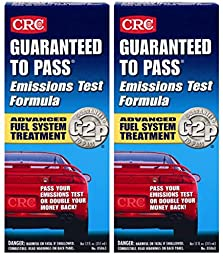 CRC Guaranteed To Pass Emissions Test Formula (12 oz) - 2 Pack