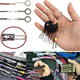 11pcs Car Cable Line Terminal Removal Tools Kit Set Harness Pin Extractor Tool