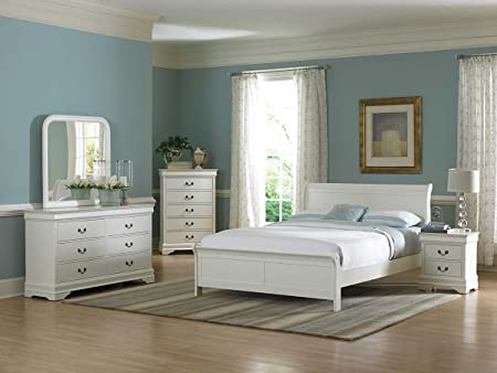 Homelegance Marianne Bedroom Set - White B539W