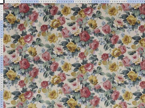 tela-de-tapiceria-tapiceria-tela-tapiceria-tela-cortina-tela-diversidad-encanto-crema-flores-shabby-