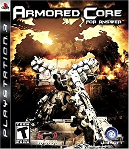Armored Core for Answer (Fr/Eng manual) - PlayStation 3