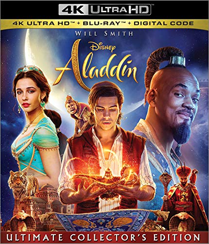 4K Blu-ray : Aladdin (2 Discos)