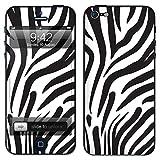 """atFoliX Designfolie """"Zebra"""" f�r Apple iPhone 5 - ohne Displayschutzfolievon """"Designfolien@FoliX"""""""