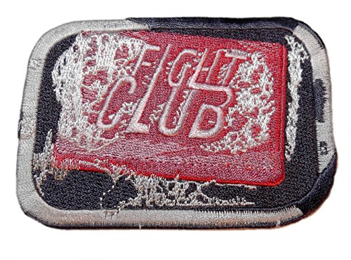 "FIGHT CLUB Bar of Soap Logo 2 1/2"" Tall Embroidered PATCH"