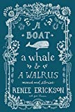 A Boat, a Whale and a Walrus: Menus and Stories