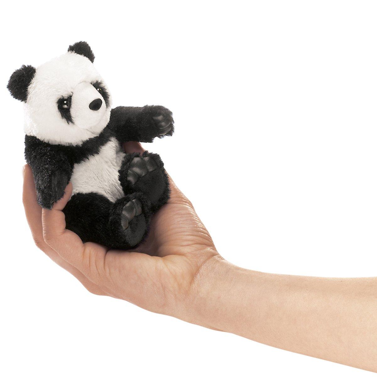Folkmanis Mini Panda Finger Puppet