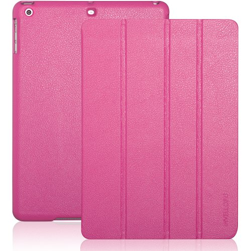 ipad-air-2-case-invellop-hot-pink-leatherette-case-cover-for-apple-ipad-air-2-cases-2014-release