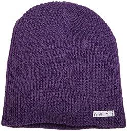 neff Men\'s Daily Beanie, Purple, One Size