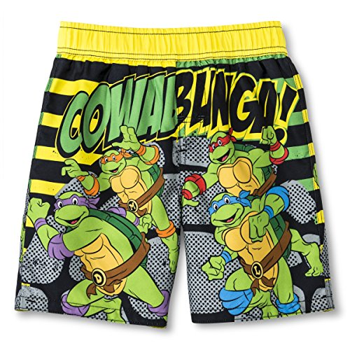 Teenage Mutant Ninja Turtles Little Boy Swimsuit Swim Trunk Size 5T