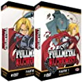 Fullmetal Alchemist - Intgrale - Edition Gold - 2 Coffrets (11 DVD + Livrets)