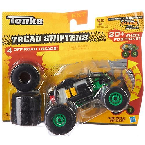 Tonka Tread Shifters Recycle Racer 3-C Vehicle - 1
