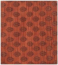 Ajit Creations Men's Kurta Fabric (AC22_Rust)