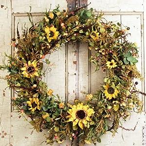 Door wreaths for all seasons