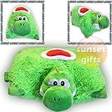 YOSHI Pillow Pet - Bright, Lime-green & Super-soft!!!