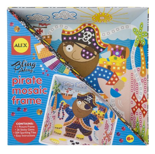 ALEX Toys Craft Bling Along Frames, Pirate - 1
