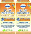Raw Probiotics Ultimate Care-100 Billion Garden of Life 30 VCaps ( 2 pck)