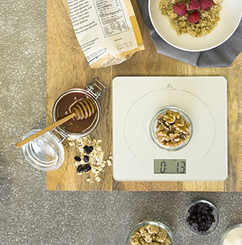 how to clean kitchen scale