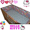 HELLO KITTY® Bumper Set - for Baby Kid Child Cot Bed Bedding 100% Cotton by HELLO KITTY®