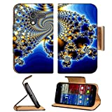Digital Art Fractal Blue White Yellow Motorola Moto X Flip Case Stand Magnetic Cover Open Ports Customized Made to Order Support Ready Premium Deluxe Pu Leather 5 7 16 Inch (138mm) X 3 1 16 Inch (78mm) X 9 16 Inch (14mm) Liil Mobility cover Professional MotoX Cases Moto_X Accessories Graphic Background Covers Designed Model Folio Sleeve HD Template Designed Wallpaper Photo Jacket Wifi Protector Cellphone Wireless Cell phone