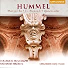 Hummel: Mass in E-Flat Major / Te Deum / Quod Quod in Orbe