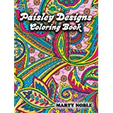 Paisley Designs Coloring Book (Dover Design Coloring Books) ~ Marty Noble