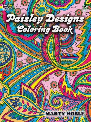 Paisley Designs Coloring Book (Dover Design Coloring Books)