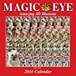 Magic Eye 2014 Wall Calendar: Amazing 3D Illusions