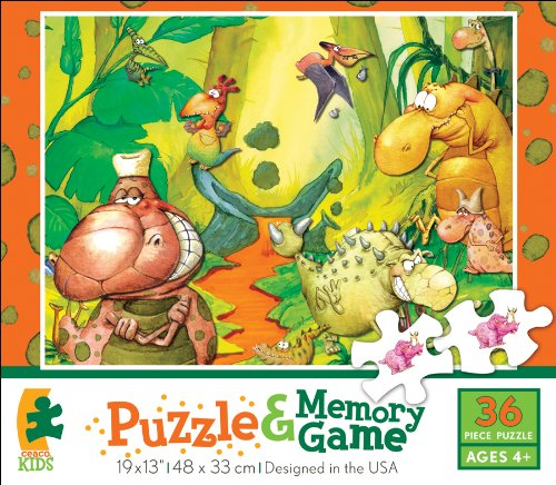 Ceaco Puzzle & Memory Game Dinoville - 1