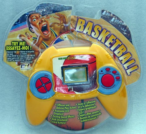 Deluxe Sports Games Electronic Hand Held Slam Dunk Basketball Game by MGA Entertainment by MGA