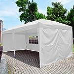 6m x 3m Pop Up Gazebo Wedding Tent Wa...