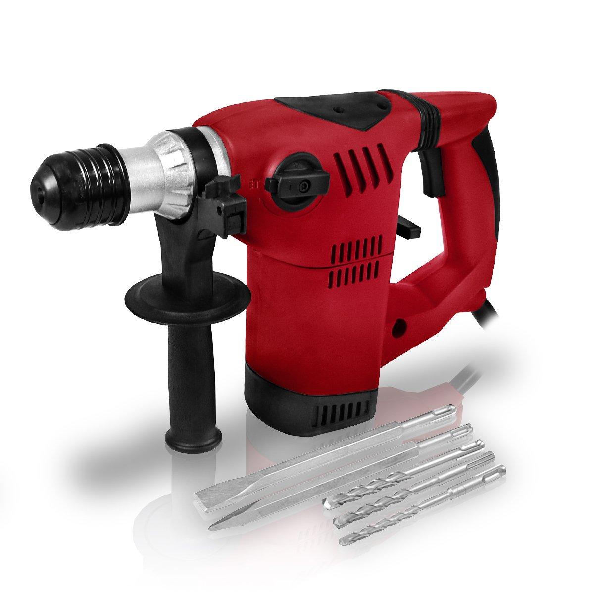 Berlan 1500 Watt SDS Bohrhammer inkl. Bohrer & Meißel  BaumarktKundenbewertung und Beschreibung