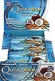 QuestBar Protein Bar Coconut Cashew 12/2.1oz Bars NET WT 25.4oz