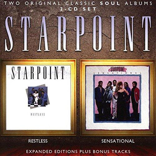 Audio CD : Restless / Sensational /  Starpoint (US.ME.12.91-3.99-B01N5HVU6Y.2988971)