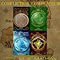 Confliction Compendium: The Dragoneer Saga, Cycle One (       UNABRIDGED) by M. R. Mathias Narrated by Christine Padovan