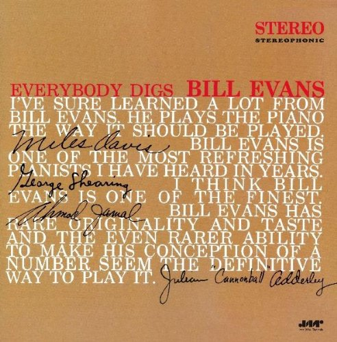 Album Art for Everybody Digs Bill Evans by Bill Evans