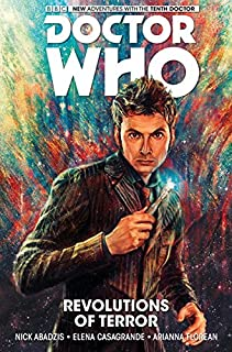 Book Cover: Doctor Who: The Tenth Doctor Vol.2