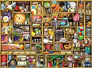 Kitchen Cupboard Jigsaw Puzzle, 1000-Piece from Ravensburger